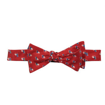 GA Traditional Red Bow